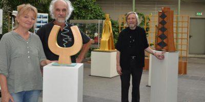 <b>Hellinge-Ausstellung – kuratiert von der Malerin Hildegard Bergmeier </b> Kreishaus Herford 2018